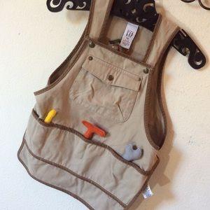 GAP Bottoms - Baby Gap Tools Overalls Bib Pullover like Daddy